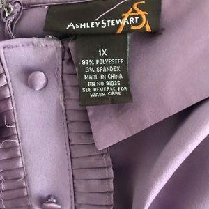 Ashley Stewart Tops - Ashley Stewart Satin Bustier Size 1X
